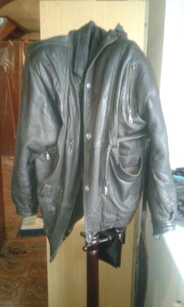 женское платье 54 в Кыргызстан: Кожаная куртка натуральная. Длина я xl размер .54-56. За 700сом
