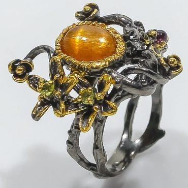 работа ювелиром в Азербайджан: Эксклюзивное кольцо ручной работы от дизайнеров Тайланда!Единственный