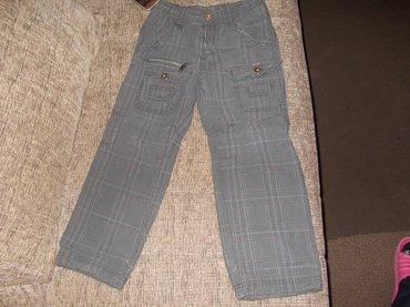 Pantalone su zarine,4-5,110cm,duzin je 64cm,poluobim struka 27cm,ima - Kraljevo