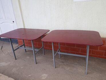 прод дом в Кыргызстан: Прод 2 столика для кафе.почти новые.легкие и прочные.1500сом за одну