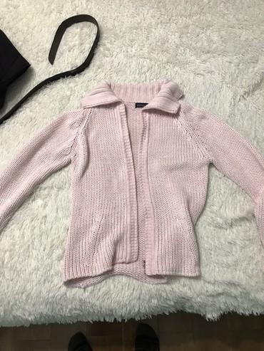 розовый свитерок в Кыргызстан: Джемпир вязанная качество цвет нежно розовый