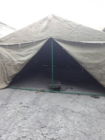 Палатки - Бишкек: Палатка брезентовая Размер: 6*10(вместимость
