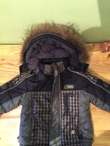 Фирменная зимняя детская куртка в Бишкек