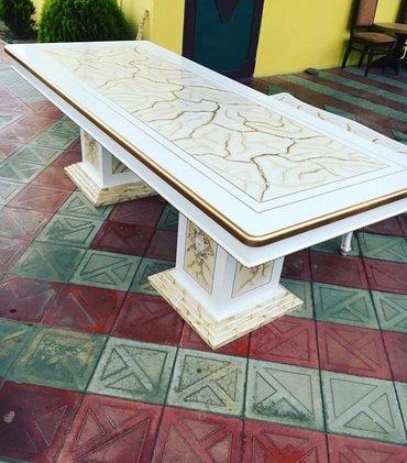 Masalar stollar стол orginal versiya fabrik istehsali mebellerin anbar