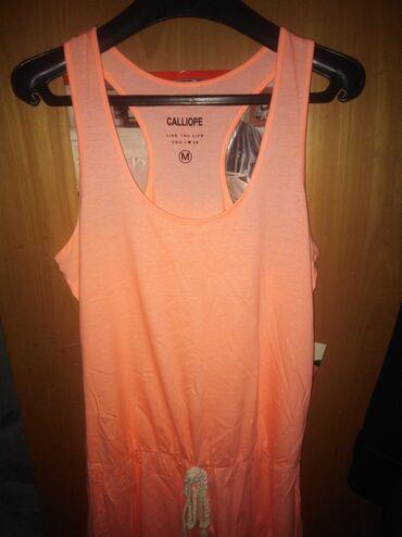 Haljine - Ruski Krstur: Narandžasta haljina na bretele, veličina M