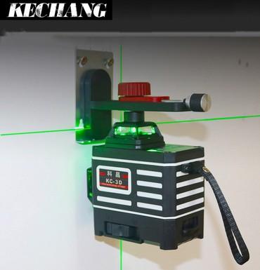 3 D лазерный нивелир.3 плоскости.Отличная комплектация. в Бишкек