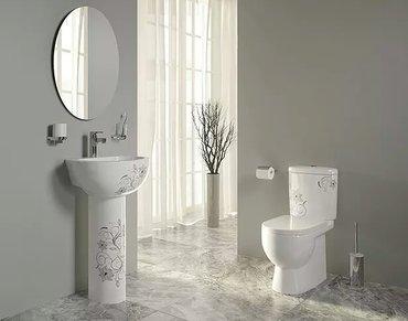 Bakı şəhərində Iperial tİcaret merkezi kirovit maĞazasi sanita  luxe sanitary ware ar