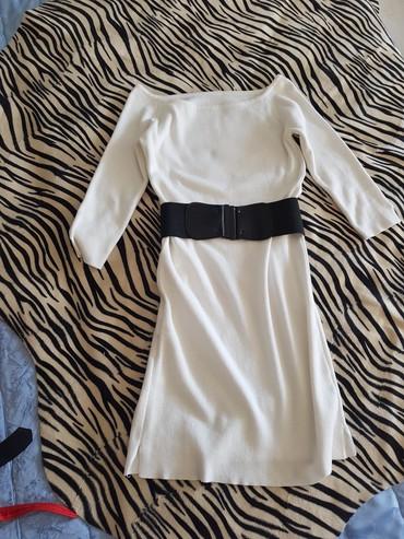 Haljina od trikotaže,rukavi tričetvrt,dužina iznad kolena,rasteze - Novi Banovci