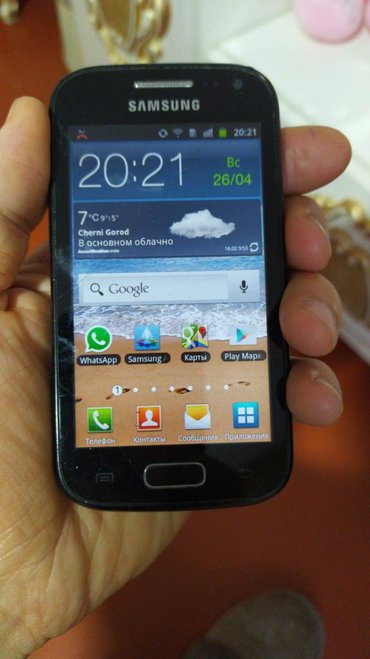 Samsung-galaxy-ace-2 - Азербайджан: Б/у Samsung Galaxy Ace 2 Черный