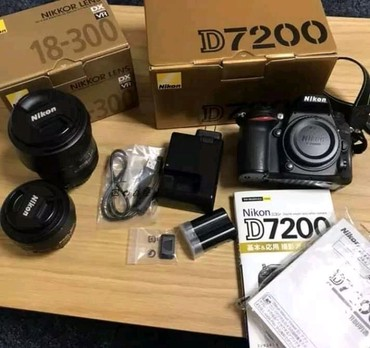 Brand new original Nikon camera with complete accessories available at σε Athens