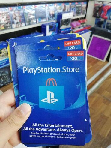 PlayStation store hesab artırmaq kartı amerika Akkauntu üçün 20 dollar