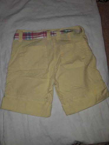 Pantalonice za devojcicu, vel 134, zute boje, bez ostecenja. - Krusevac - slika 3