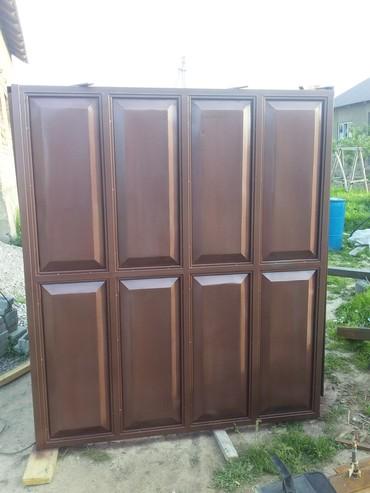 Другие услуги - Кок-Ой: Откатные и распашные воротыи стальные двери.на заказ