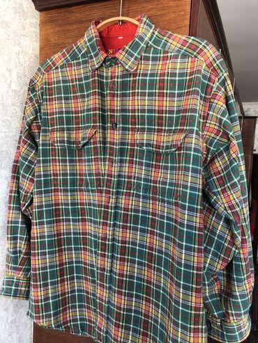 платье рубашка для полных в Кыргызстан: Необычные б/у рубашки, плотные. Ветровка FILA, оригинал
