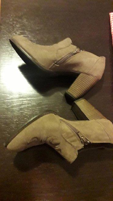 Ženska obuća   Pozarevac: Veoma lepe, kvalitetne, kozne cipele iz Dajhmana, br 38,unutrasnje