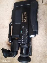 Bakı şəhərində Yaxsi veziyyetde panasonic m3000 videokamera satilir. Ozum isdifade