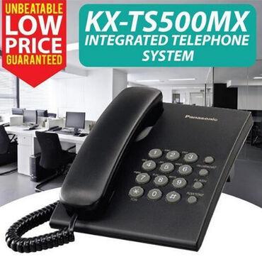Panasonic kx t7730x - Кыргызстан: Телефон Panasonic KX-TS500MX2-ступенчатый регулятор громкости звонка