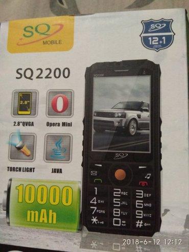SQ 2200 model telefon satiram Batareya 10000 kamera var Watsap in Bakı