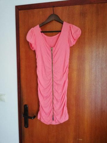 Haljina S/M velicina.Ima elastina, rastegljiva je. Duzina 81 cm, - Novi Sad