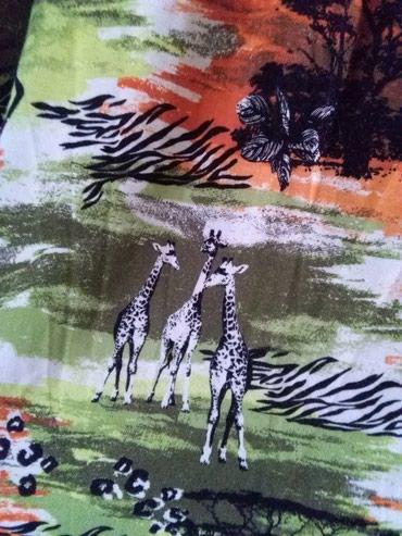 Haljina za krupnije dame materijal mekan I prijatan za leto,Afrika - Sombor