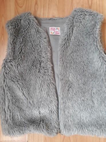 Dečije jakne i kaputi | Uzice: Prelep,moderan,super kvaliteta,cupavi prsluk,dobro ocuvan,velicina