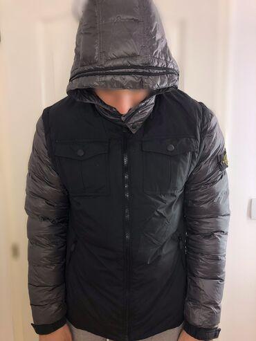 Stone Island muska jakna ( mogu se i skinuti rukavi ) / prsluk. Moze