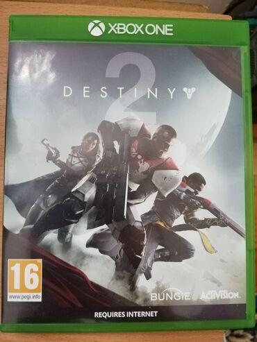 Destiny 2, XBOX ONE, u odličnom stanju. Preuzimanje lično ili post