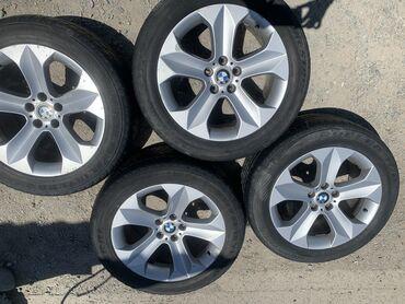 Диски: BMW 232 style! ОРИГИНАЛ!Перед ширина 9J, вылет 48.Зад ширина