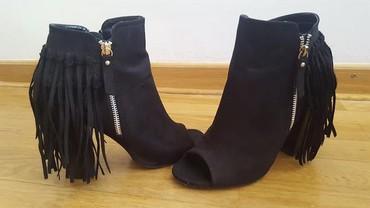 Asos sandale cizmice sa resama, nosene ali u super stanju, 39broj - Belgrade