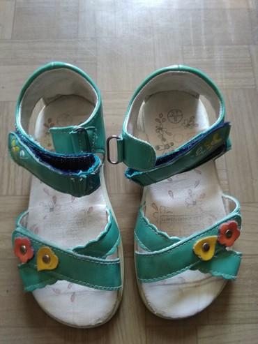 сандалии 27 размер в Кыргызстан: Сандалии детские, пр-во Германия, 27 размер, на липучке