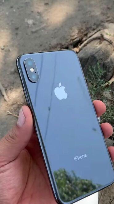 Б/У iPhone X 256 ГБ Черный (Jet Black)