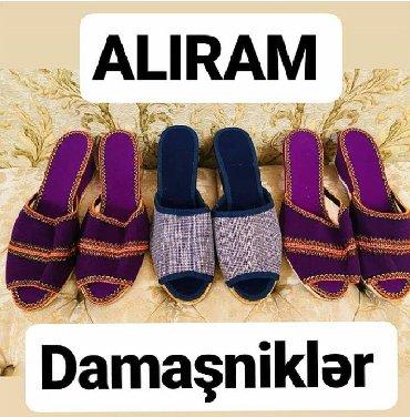 домашние женские тапочки балетки в Азербайджан: ALIRAM qedimi damasnikler buyrun vatsapa atin