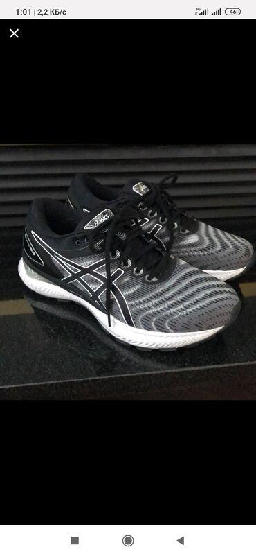 спортивная обувь в Кыргызстан: Asics Gel Nimbus 22, original. Размер US 8 (euro 41.5, cm 26). Крос-ки