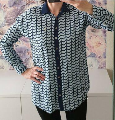 Фирменная женская рубашка US Polo в отличном состоянии. Рашмер 48 (L)