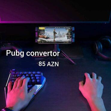 mause - Azərbaycan: Pubg convertor Convertor +klaviatura,mause  3 /1 arada 85 azn