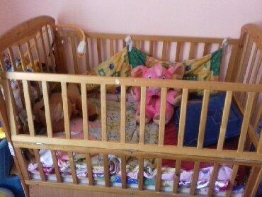 dverki dlja kuhonnoj mebeli в Кыргызстан: Детская кроватка б/у в хорошем состоянии кроватка большая ребенок