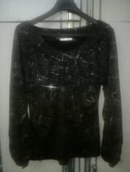 No secret b - Srbija: Prodajem prelepu svečanu crnu bluzicu.Veličina: XLSlanje: PostExpress