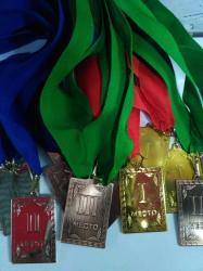 Медали спортивные 1.2.3 место