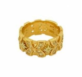 Эксклюзивные обручальные кольца из золота 585 пробы с цирконами. в Бишкек