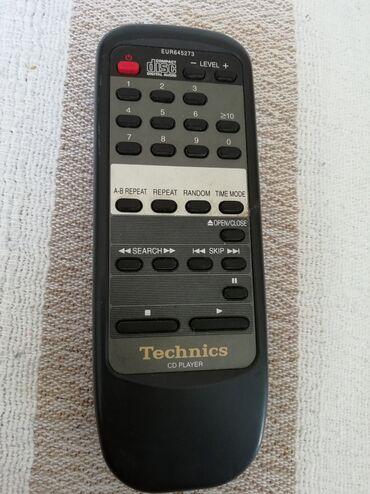 Audio | Srbija: Daljinski Technics. Preuzimanje lično ili šaljem brzom poštom na