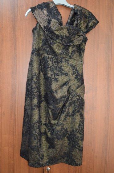 вечернее зеленое платье в Кыргызстан: Продаю вечернее платье, размер 44-46, темно зеленого цвета, длина до