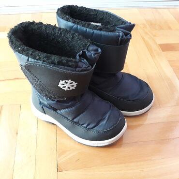 Dečije Cipele i Čizme - Nis: Prodajem zimske čizmice pandino vel 25, unutrašnje gazište