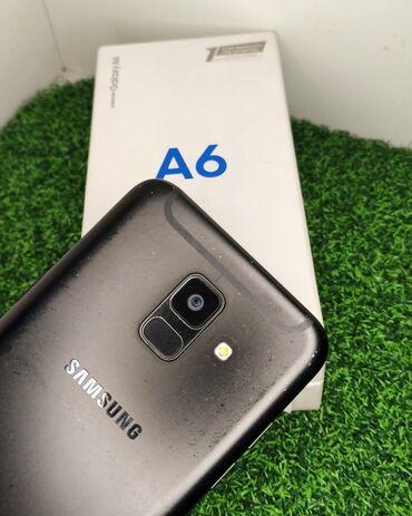 Б/у Samsung Galaxy A6 32 ГБ Черный