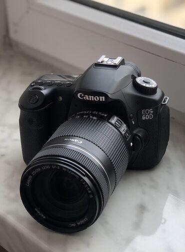 canon kiss x2 в Азербайджан: Canon 60D 18-135 mm Aparat yaxshi veziyyetdedir az istfade olunub. Ev