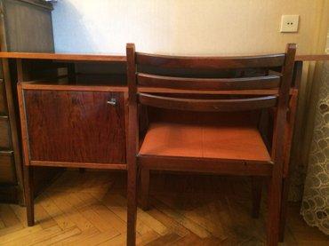 Bakı şəhərində Yazi masasi oturacagi ile birlikde,ruminiya istehsali,temiz