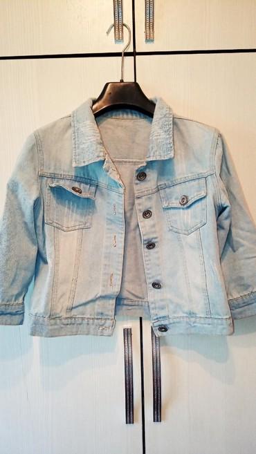 джинсова курточка в Кыргызстан: Джинсовая курточка балеро.размер 44-46