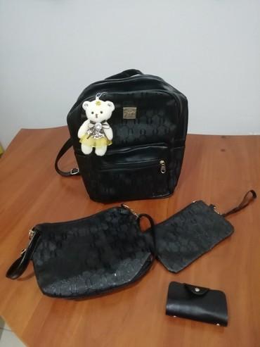 NOVO-AKCIJA-Set 4u1: ranac, torbica, neseser, mali novčanik za - Kragujevac