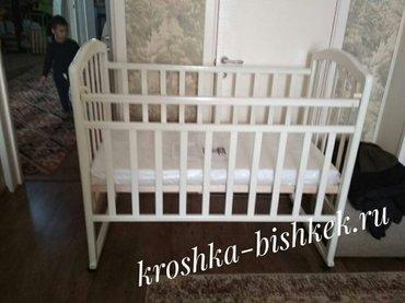Кроватка Алита. Доставка по городу бесплатная. для заказа напишите пож в Бишкек