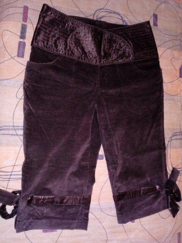 Ženske pantalone - Srbija: SNIŽENJE!!!Elegantne pantalone od đavolje kože,jako kvalitetne! Nošene