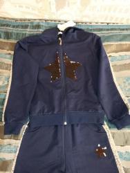 велюровый спортивный костюм в Кыргызстан: Продаю новый детский спортивный костюм 1.70